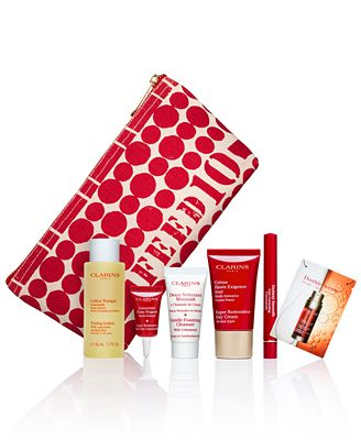 Gift with Purpose: Receive a FREE 7-Pc. FEED Gift with $75 Clarins purchase - A Macy's Exclusive