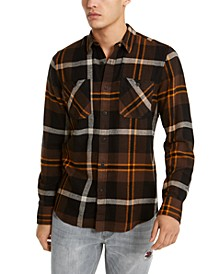 Men's Drew Plaid Flannel Shirt
