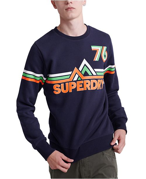 Superdry Men's Downhill Racer Graphic Sweatshirt
