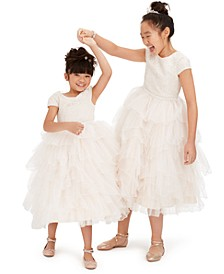 Little, Toddler & Big Girls Tiered Fairy Dresses