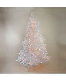 Pre-Lit Sparkling Alaskan Pine Artificial Christmas Tree