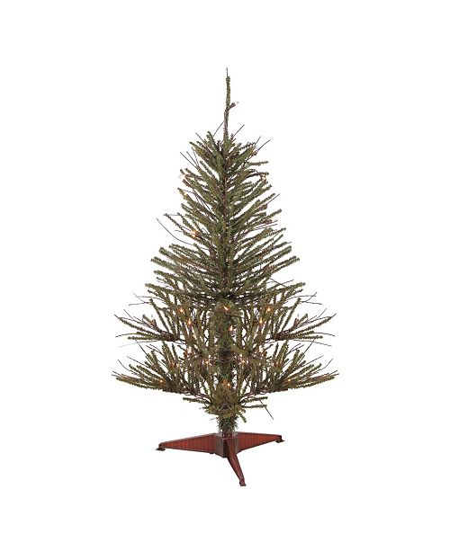 Northlight 3' Warsaw Twig Artificial Christmas Tree - Clear Lights