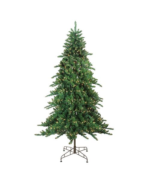 Northlight 7.5' Pre-Lit Eden Spruce Artificial Christmas Tree - Clear Lights