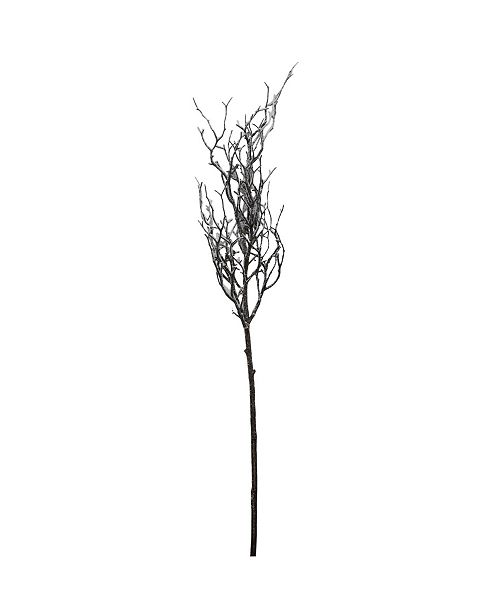 """Northlight 43"""" Frosted and Glittered Artificial Poplar Tree Branch"""