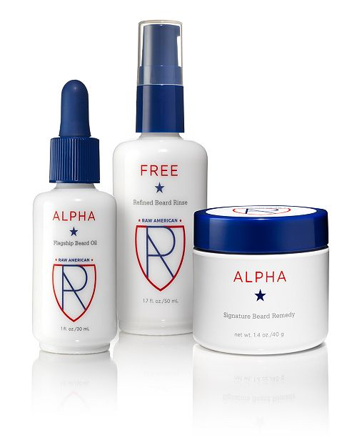 Raw American Alpha Gift Set