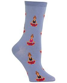 Women's Meditation Crew Socks