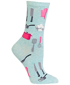 Hot Sox Women's Chef Crew Socks