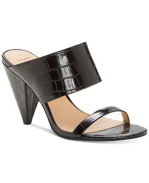 INC International Concepts INC Women's Lovisha Double-Strap Slide Heels, Created for Macy's