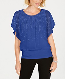 Jewel-Embellished Top, Created for Macy's