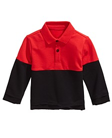 Baby Boys Colorblocked Collared Shirt, Created For Macy's
