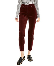 High-Rise Skinny Corduroy Pants