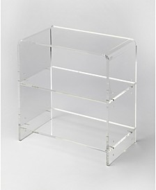 Crystal Acrylic Bookcase