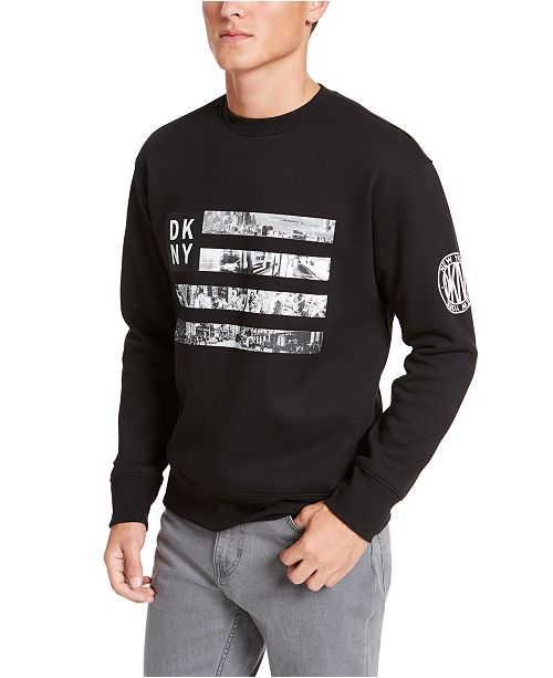 DKNY Men's Flag Fleece Sweater