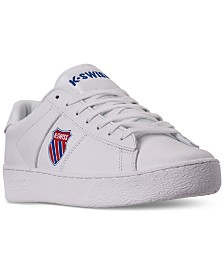 K-Swiss Men's Court Casual Sneakers from Finish Line