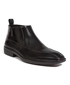 DEER STAGS Men's Tate Memory Foam Lightweight Classic Dress Comfort Zipper Boot