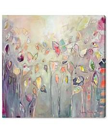 "Butterfly Dance by Michaela Nessim Canvas Art - 43"" x 43"" x 1.5"""