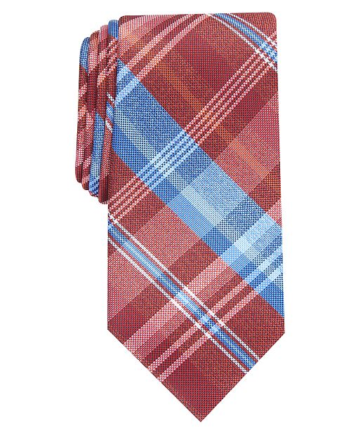Perry Ellis Men's Essex Plaid Tie