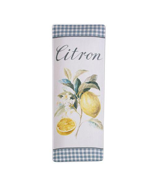 Certified International Citron Rectangular Platter