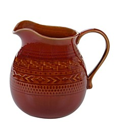Aztec Rust Pitcher