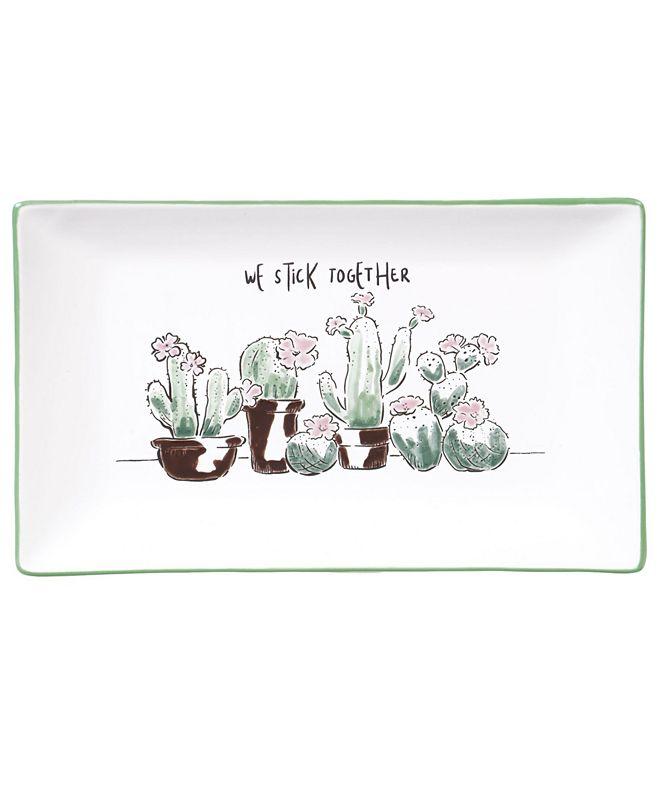 Certified International Desert Bloom Rectangular Platter