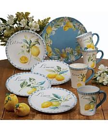 Certified International Citron Dinnerware Collection