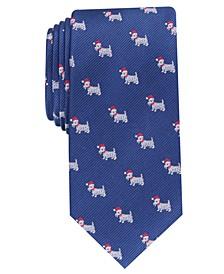 Men's Santa Scotty Tie, Created For Macy's