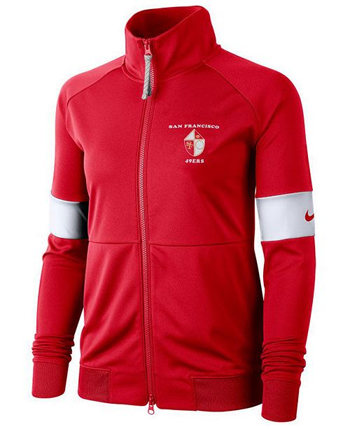 Nike Women's San Francisco 49ers Historic Jacket