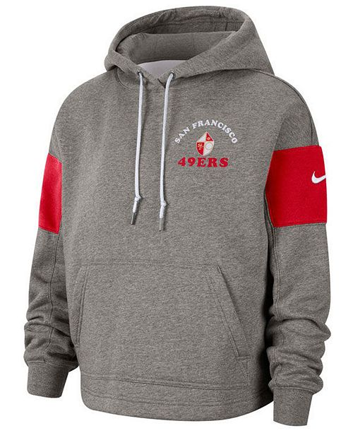Nike Women's San Francisco 49ers Historic Hoodie