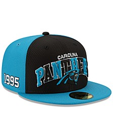 Boys' Carolina Panthers On-Field Sideline Home 59FIFTY-FITTED Cap