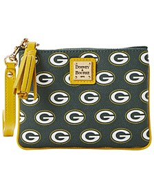 Green Bay Packers Saffiano Stadium Wristlet