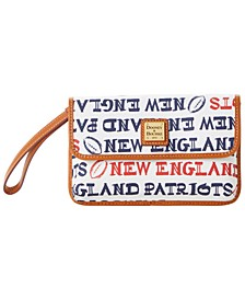 New England Patriots Doodle Milly Wristlet