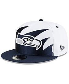 Seattle Seahawks Vintage Sharktooth 9FIFTY Cap
