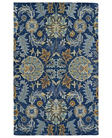 Helena 3212-17 Blue Area Rug Collection