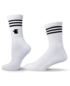 Unisex Skate Style Cat Crew Socks