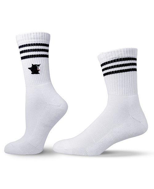 UNISOX Unisex Skate Style Cat Crew Socks