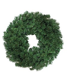 Deluxe Windsor Pine Artificial Christmas Wreath - 30-Inch Unlit