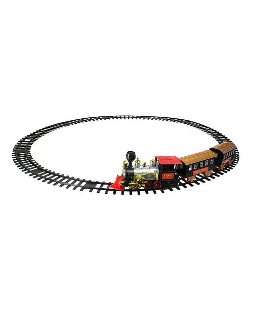 Northlight 1-Piece Battery Operated Lighted Animated Classics Train Set with Sound