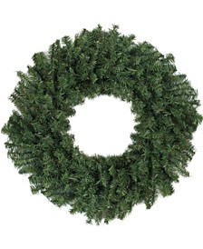 "30"" Canadian Pine Artificial Christmas Wreath - Unlit"