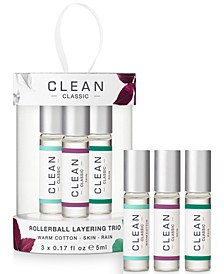 3-Pc. Classic Rollerball Layering Ornament Gift Set