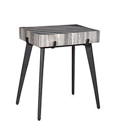 Grey Accent Table, Quick Ship