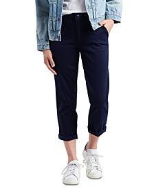 Classic Cropped Chino Pants