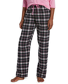 Hue® Women's Sparkling Plaid Pajama Pants