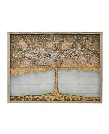 Madison Park Autumn Tree Wood Art with Embellishment