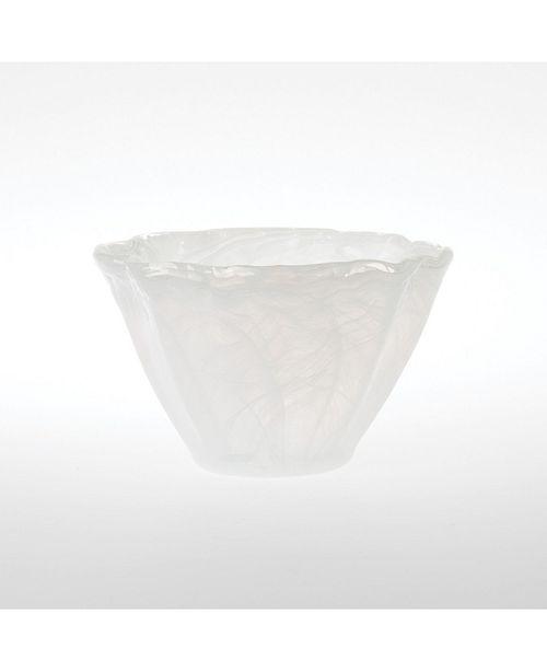 VIETRI Onda Small Glass Vase