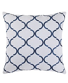 "Villa 18"" x 18"" Decorative Pillow"