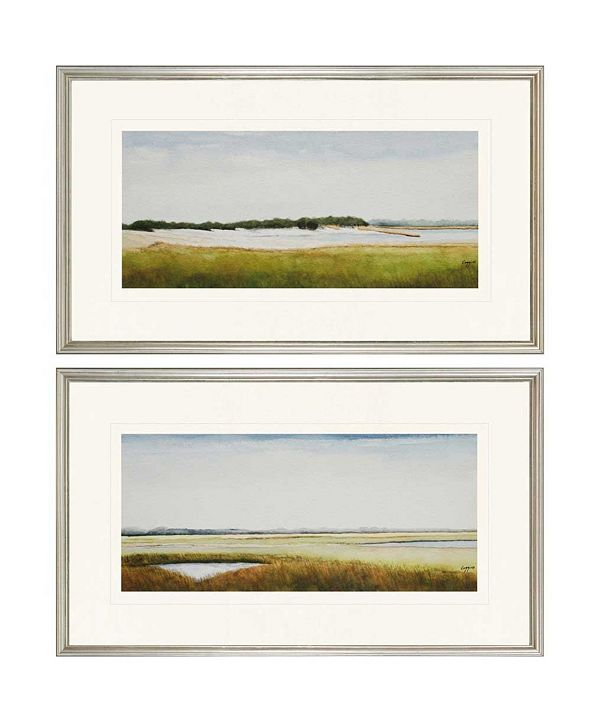 "Paragon Marshlands II Framed Wall Art Set of 2, 18"" x 30"""