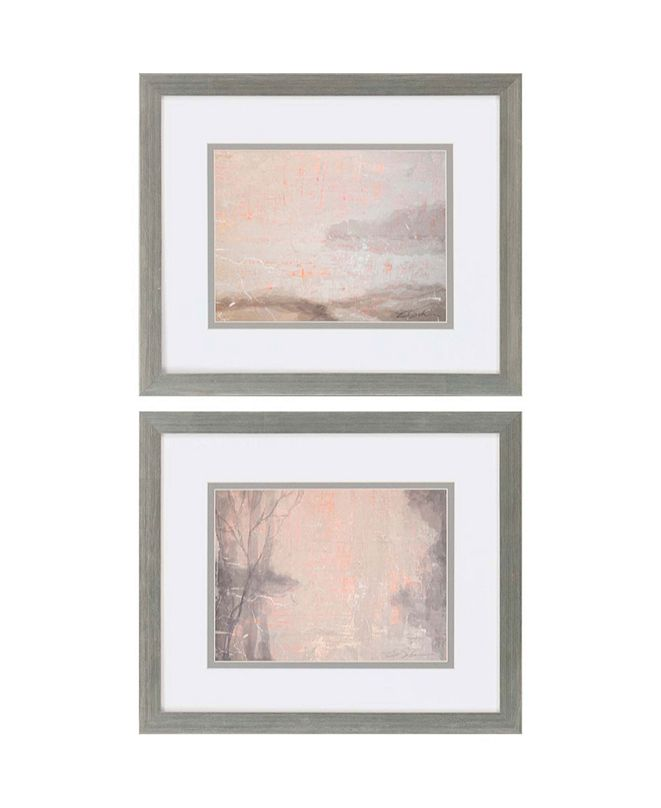"Paragon Delta Dawn II Framed Wall Art Set of 2, 22"" x 26"""