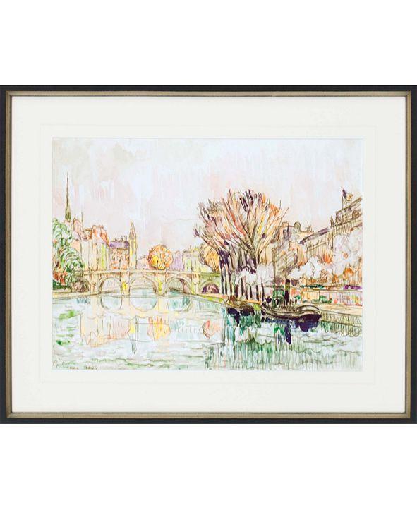 "Paragon The Pont Neuf, Paris Framed Wall Art, 28"" x 34"""