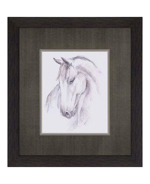 "Paragon Equine Study II Framed Wall Art, 36"" x 32"""