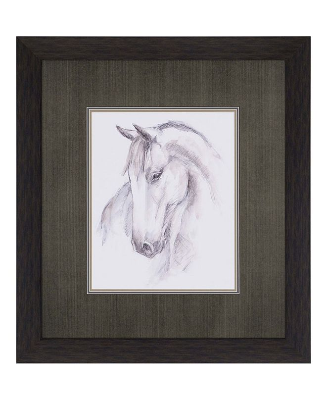 "Paragon Equine Study II Framed Wall Art, 36"" x 32"""